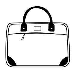 Freepc borsa professionale per notebook - generica ricondizionata