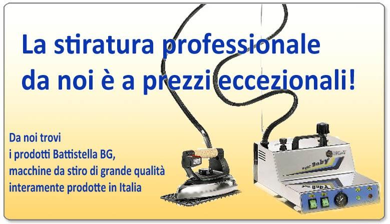 Macchine da stiro professionali a prezzi imbattibili!